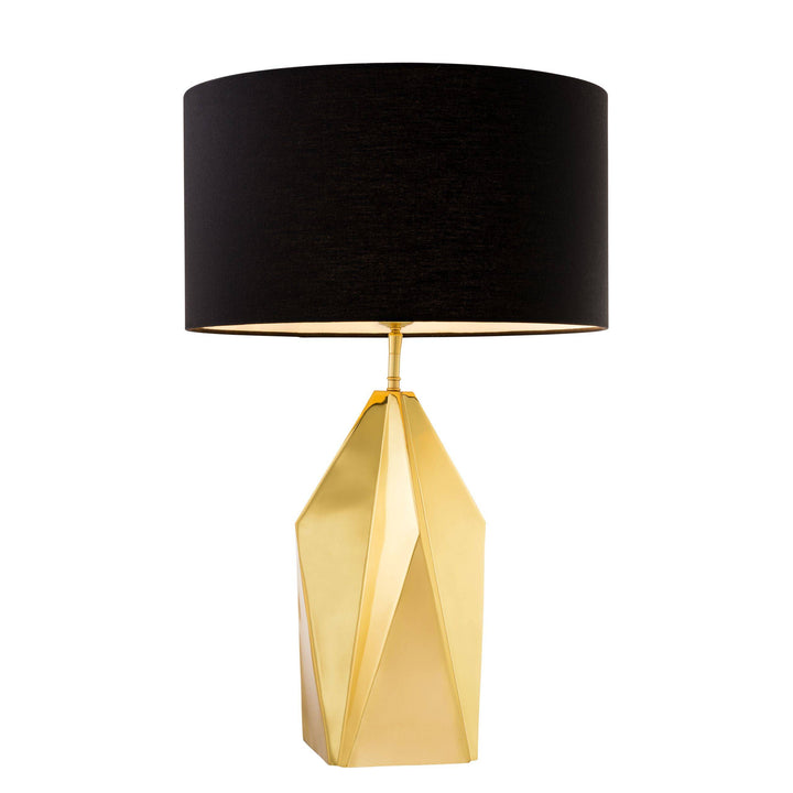 TABLE LAMP SETAI POLISHED BRASS