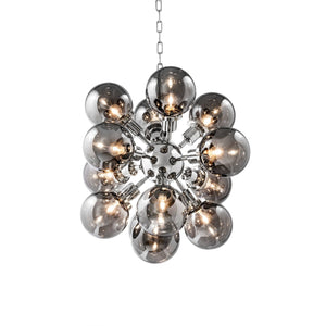 CHANDELIER LUDLOW NICKEL FINISH