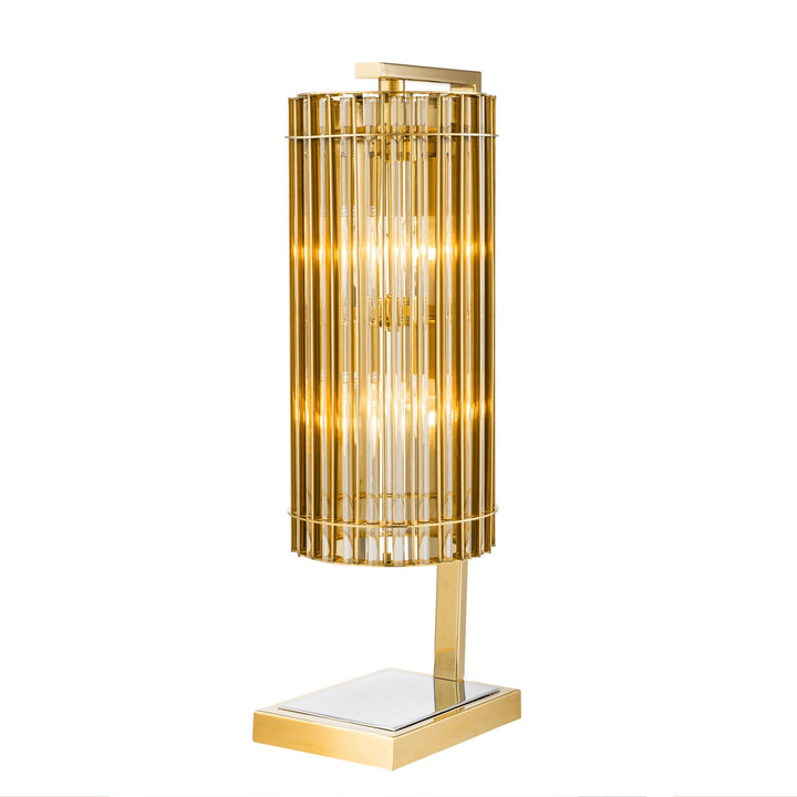 TABLE LAMP PIMLICO GOLD NICKEL FINISH