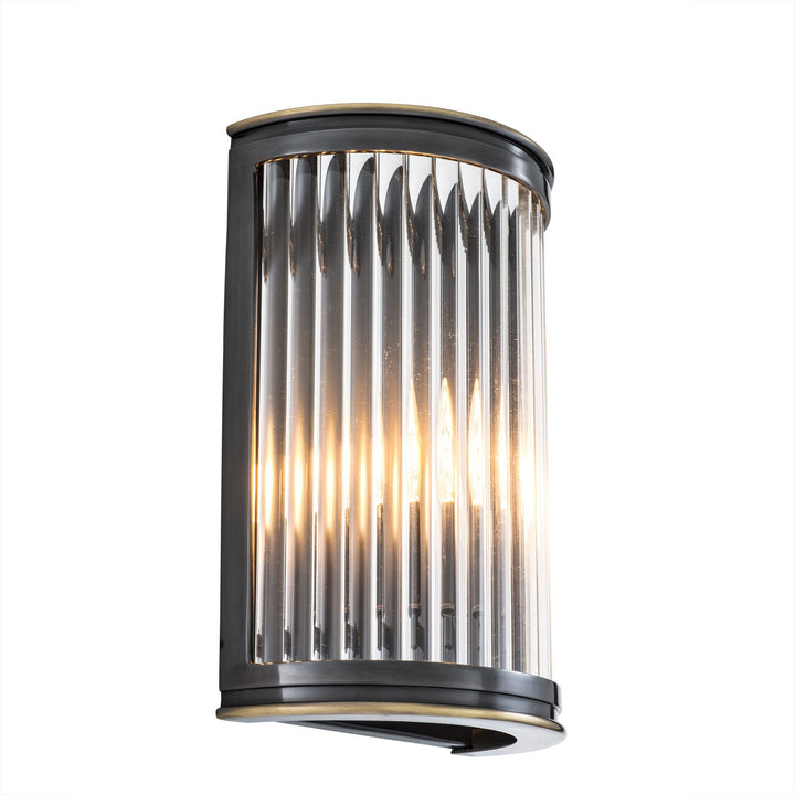 WALL LAMP ALICE GUNMETAL FINISH