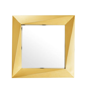MIRROR RIVOLI S GOLD FINISH
