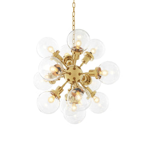 CHANDELIER LUDLOW GOLD FINISH