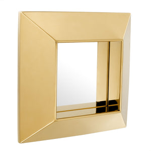 MIRROR VINOVO GOLD FINISH