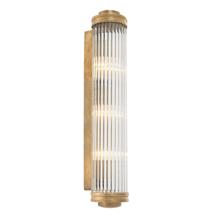 WALL LAMP GASCOGNE  VINTAGE BRASS FINISH XL