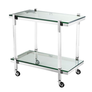 TROLLEY ROYALTON SILVER