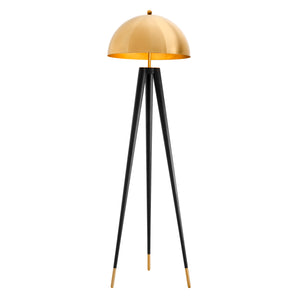 BODENLAMPE COYOTE GOLD FINISH