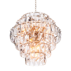CHANDELIER AMAZONE CLEAR CRYSTAL L