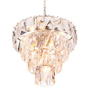 CHANDELIER AMAZONE CLEAR CRYSTAL S