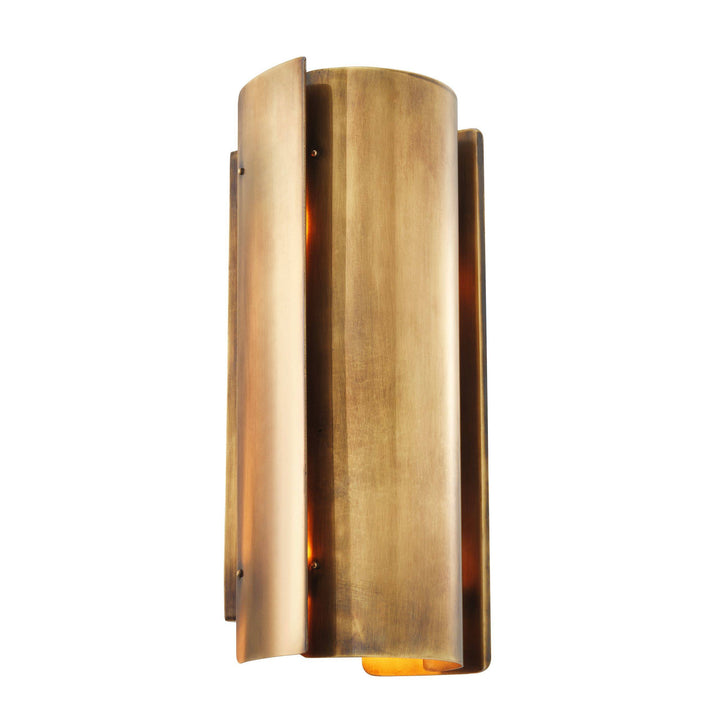 WALL LAMP VERGE VINTAGE BRASS FINISH
