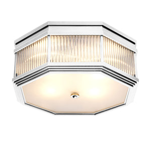 CEILING LAMP BAGATELLE NICKEL FINISH
