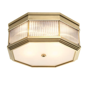 CEILING LAMP BAGATELLE ANTIQUE BRASS FINISH