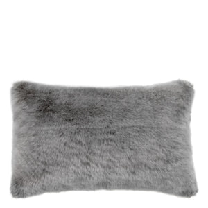 SCATTER PILLOW ALPINE GREY FAUX