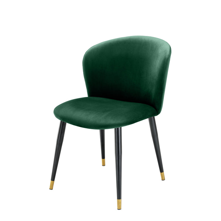 DINING CHAIR VOLANTE ROCHE GREEN BY MELANIE INTERIOR DESIGN