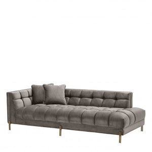 LOUNGE SOFA SIENNA  GREY LEFT