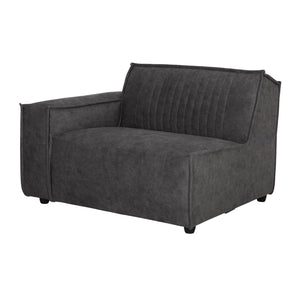 RALLY SOFA ELEMENT 1 ARM LEFT ANTHRACITE