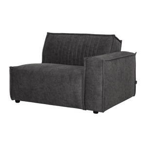 RALLY SOFA ELEMENT 1 ARM RIGHT  ANTHRACITE