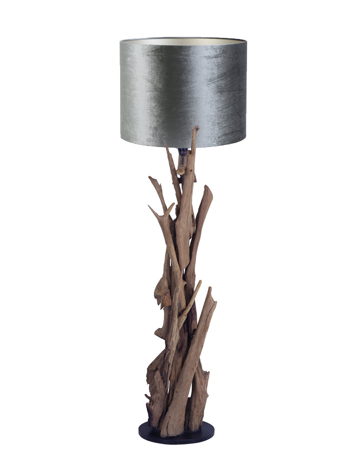 Floor Lamp Driftwood MiD 001 by Melanie Interior Design