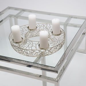 Advent Candle Holder Modern Style von Melanie Interior Design für 4 Kerzen