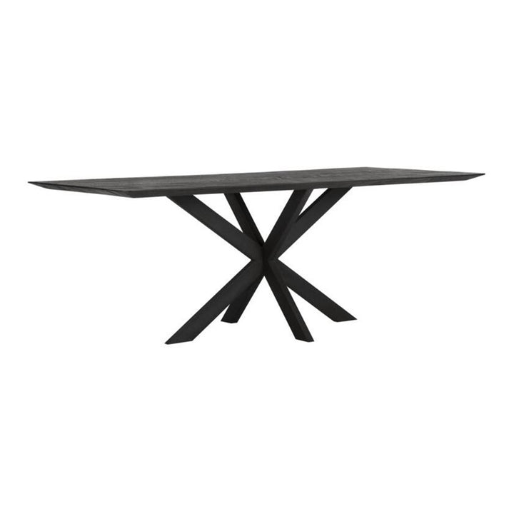Dining Table Curves Black 260 cm