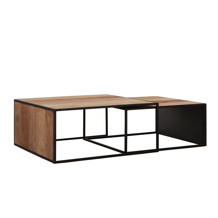 Cosmo Coffee Table Square Set Of 2
