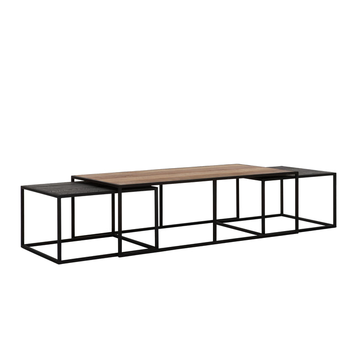 COSMO COFFEE TABLE RECTANGULAR SET OF 3