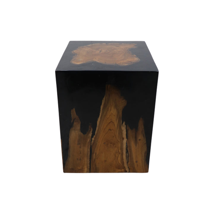 Block Side Table 30x30x40 by Melanie Interior Design