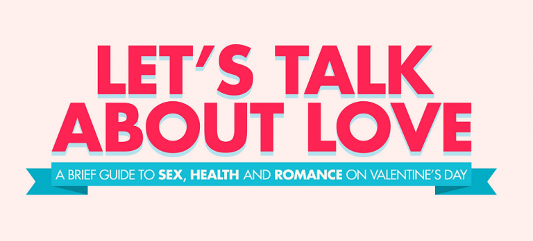 A Brief Guide to Sex, Health and Romance On Valentine's Day [Infographic]