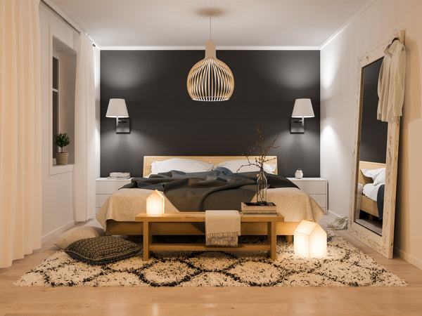 inviting bedroom