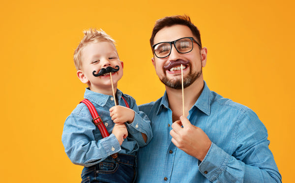 father son mustaches