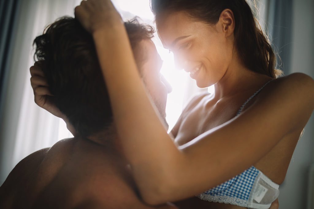 passionate couple making sex last longer