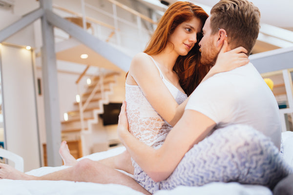 romantic couple exploring vibrator tips for men