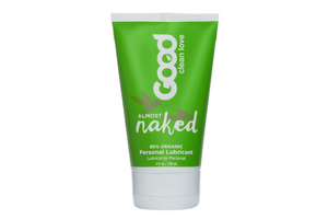 Made with aloe vera and infused with lemon and vanilla for a light flavor, this organic, pH-balanced, water-based lubricant provides long-lasting glide without irritating chemicals or sticky cleanup.