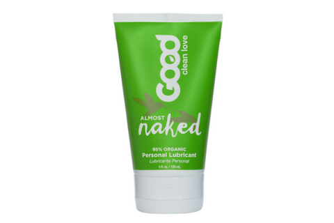 This certified organic water-based lubricant provides long-lasting glide without irritating chemicals or sticky cleanup.