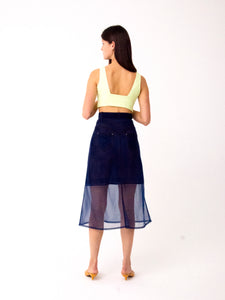 donni denim skirt