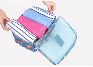 6 Pcs Packing Cube Set, Travel Luggage Organizer Compression Foldable Water-Resistant Large Capacity Eko Traveler
