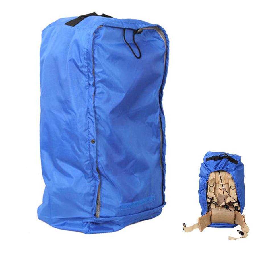 Eko Waterproof Backpack Rain Cover w/ Reinforced Inner Layer for Camping, Hiking, Traveling (35-70L)