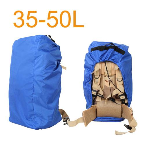 Aircraft Transport Full Protector Backpack Cover 35L 40L 45L 50L 55L 60L 65L 70L Waterproof Rain Cover Backpack Plane Dust Cover Eko Traveler Blue 35 to 50L