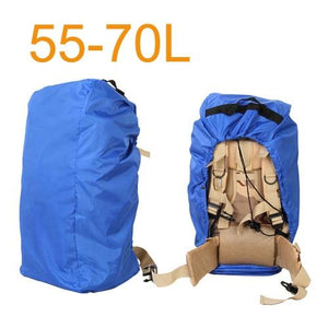 Aircraft Transport Full Protector Backpack Cover 35L 40L 45L 50L 55L 60L 65L 70L Waterproof Rain Cover Backpack Plane Dust Cover Eko Traveler Blue 55 to 70L