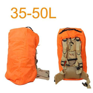 Aircraft Transport Full Protector Backpack Cover 35L 40L 45L 50L 55L 60L 65L 70L Waterproof Rain Cover Backpack Plane Dust Cover Eko Traveler Orange 35 to 50L