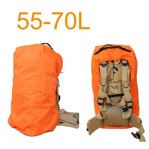 Aircraft Transport Full Protector Backpack Cover 35L 40L 45L 50L 55L 60L 65L 70L Waterproof Rain Cover Backpack Plane Dust Cover Eko Traveler Orange 55 to 70L