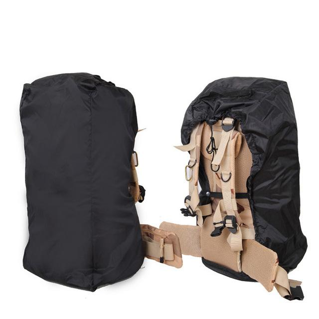 Eko Waterproof Backpack Rain Cover w/ Reinforced Inner Layer for Camping, Hiking, Traveling (35-70L) Eko Traveler