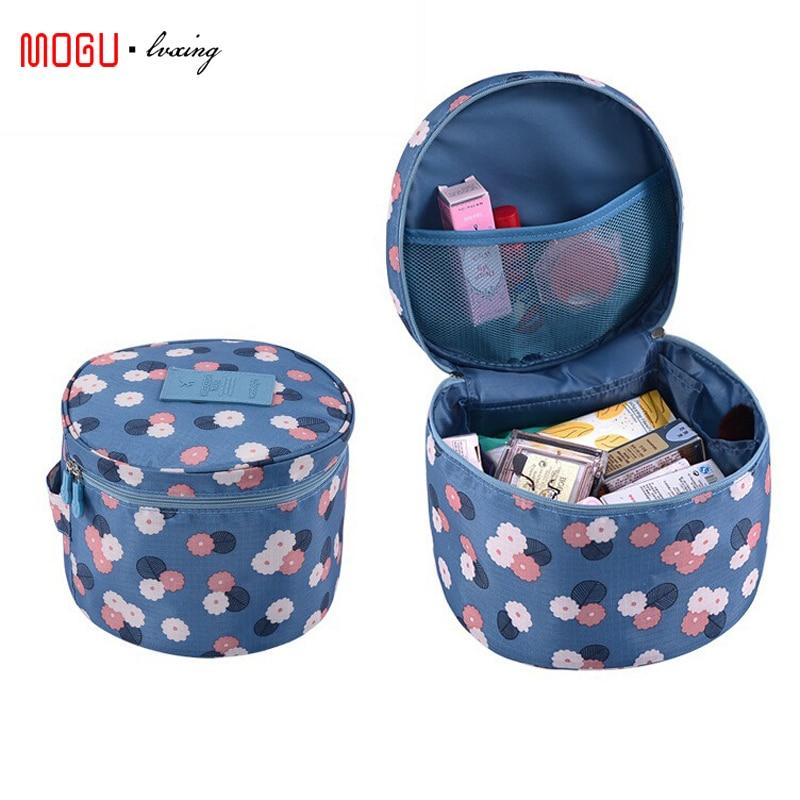 Travel Organizer Storage Bag - Multi-Functional Waterproof Underwear, Cosmetic, Makeup & Toiletries
