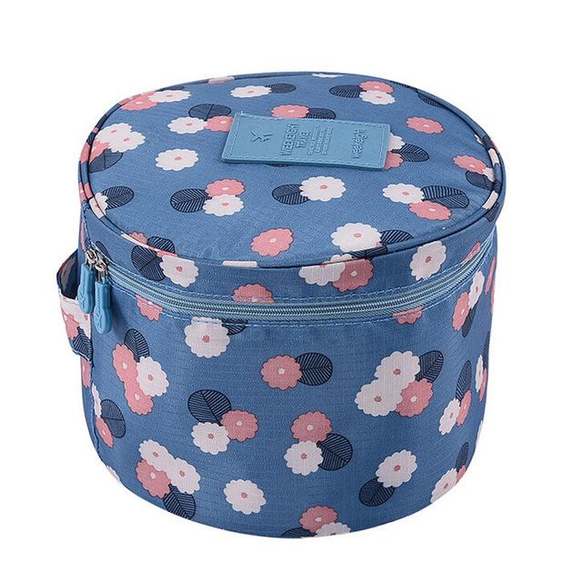 Multi-function Travel Bag luggage organizer Packing cube Underwear Bra Finishing Cosmetics Acceptance Storage bag Sundry Bags Eko Traveler BlueHua 1