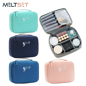 New Design Travel Cosmetic Bag Beautician Storage Bags Waterproof Female Storage Make up Cases Luggage Accessories Eko Traveler