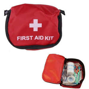 Portable Storage Bag First Aid Emergency Medicine Bag Outdoor Pill Survival Organizer Emergency Kits Package Travel Accessories Eko Traveler 14x10cm red