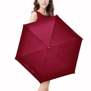 Premium Mini Compact Travel Umbrella - Waterproof Cover, Sun Rain UV Protection Portable Windproof Eko Traveler