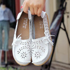 Women Casual Hollow Out Slip-on Flats