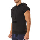 Men's Solid Color Hooded Shirts