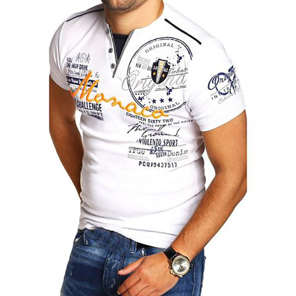 Men's Casual Comfortable Printed T-Shirts