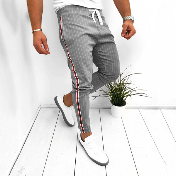 Daily Stripe Casual Slim Pants